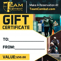 $25 Gift Certificate